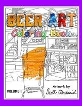 Beer Art Coloring Book
