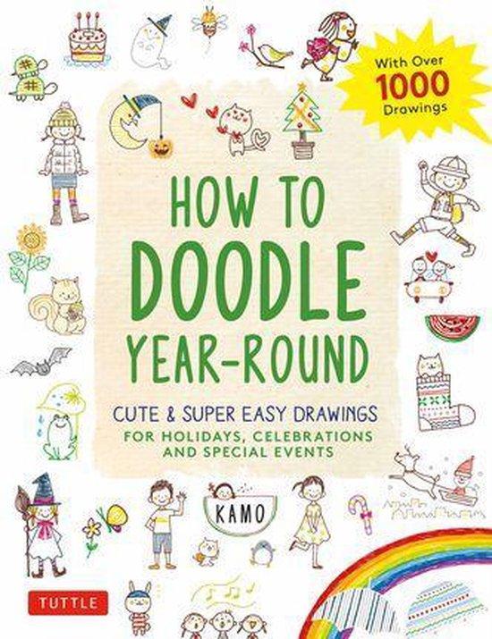 Boek cover How to Doodle Year-Round van Kamo (Onbekend)