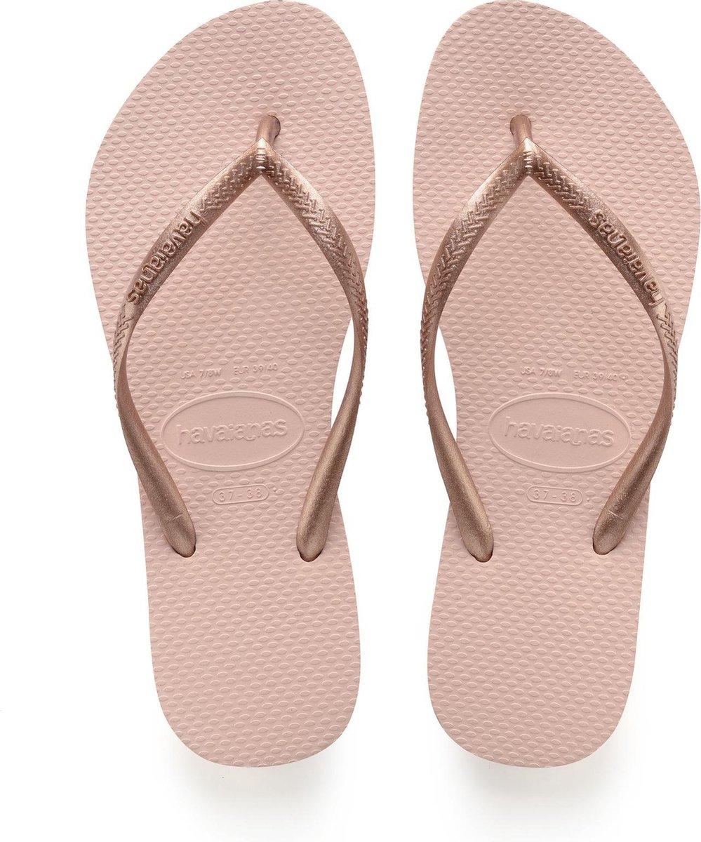 Havaianas Slim Dames Slippers - Ballet Rose - Maat 39/40