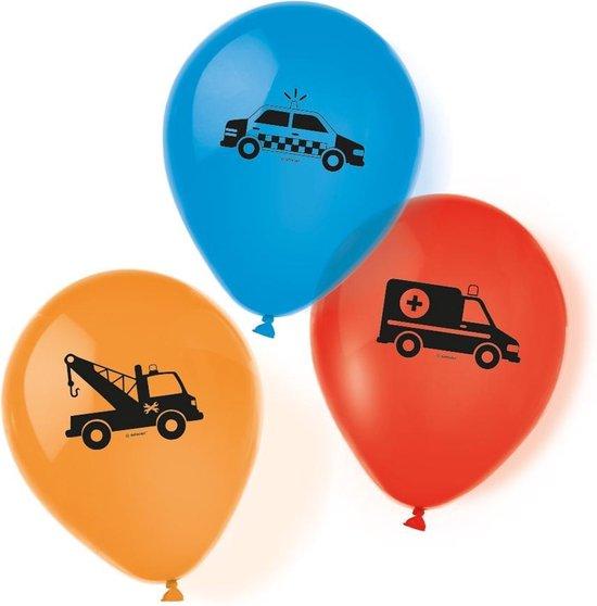 Amscan Ballonen On The Road Jongens 28 Cm Latex 6 Stuks