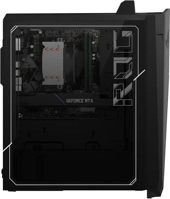 ASUS ROG G15CK-NL020T - Intel Core i7 (10th gen) - 8 GB - 1512 GB HDD + SSD - Tower desktop - Zwart