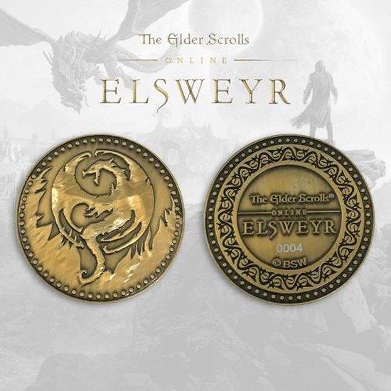 Afbeelding van het spel ELSWEYR - ELDER SCROLLS LIMITED EDITION MUNT