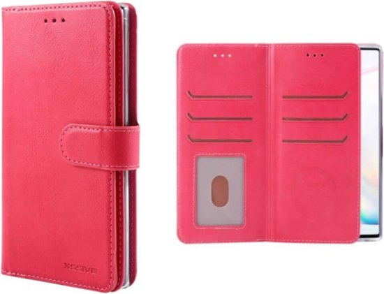 FONU Wallet Case Hoesje iPhone XS Max - Roze
