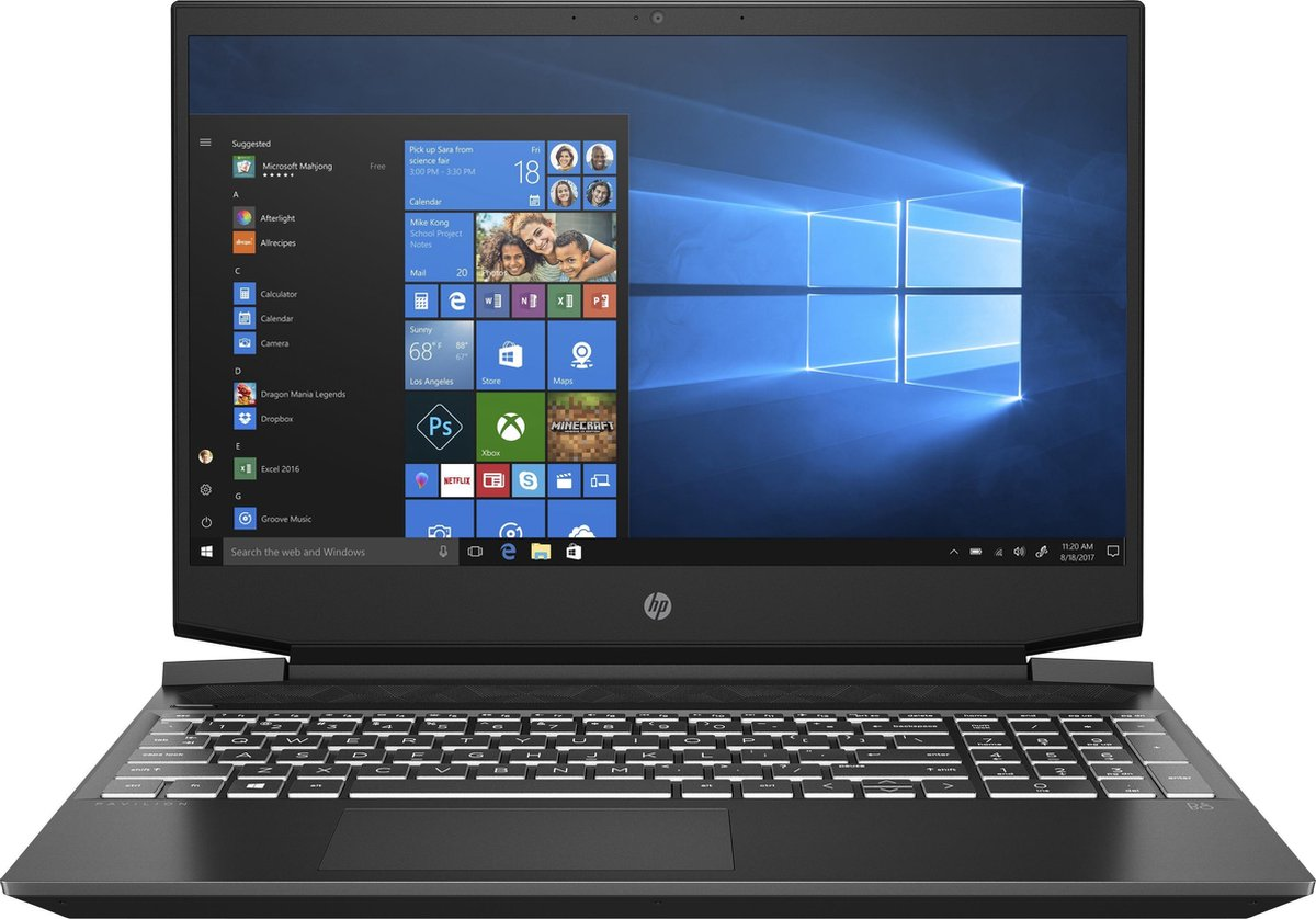HP Pavilion Gaming 15-ec0710nd - Gaming Laptop - 15.6 inch