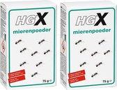 HGX mierenpoeder Effectieve bestrijding van mieren tot in het nest - 2 Stuks !