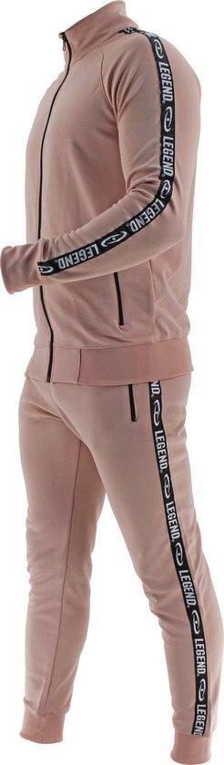 Legend B-keuze Trainingspak Unisex SlimFit Nude Pink  L