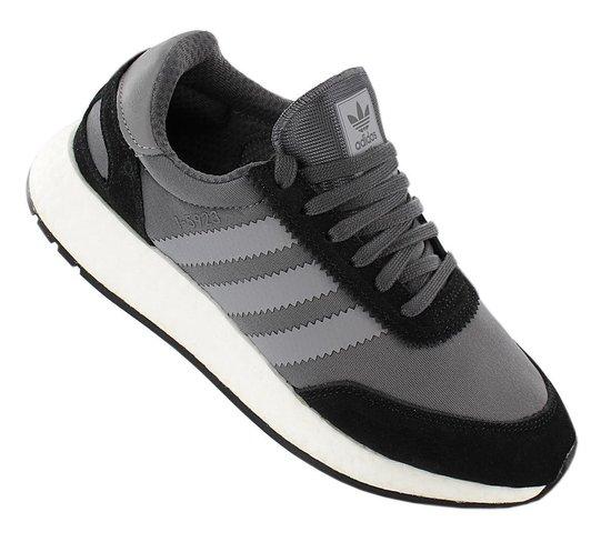 adidas Originals Iniki I-5923 W Boost - Dames Sneakers Sportschoenen  Schoenen Grijs-Zwart D97353 - Maat EU 36 UK 3.5