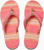 Reef Slippers Kids Pom Pom Roze Maat:31/32 (US 13/1)