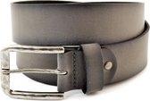 XXL Belts XXL belts Heren Broekriem Grijs 120 cm