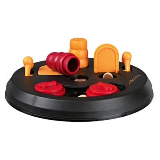 Trixie Honden Activity Flip Board - Hondenspeelgoed - Zwart/Oranje - 23 cm