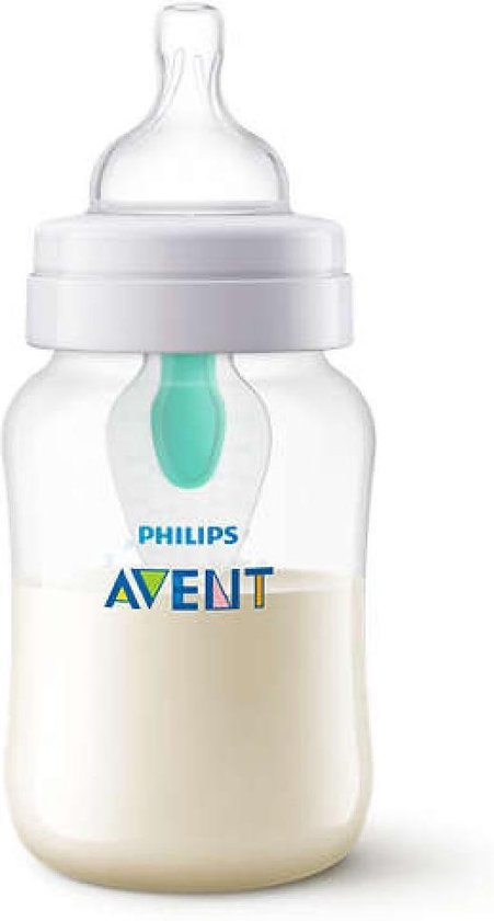 Philips AVENT Anti-Colic - SCF813/14 Babyfles (260ml) met AirFree Ventiel - 1 stuk