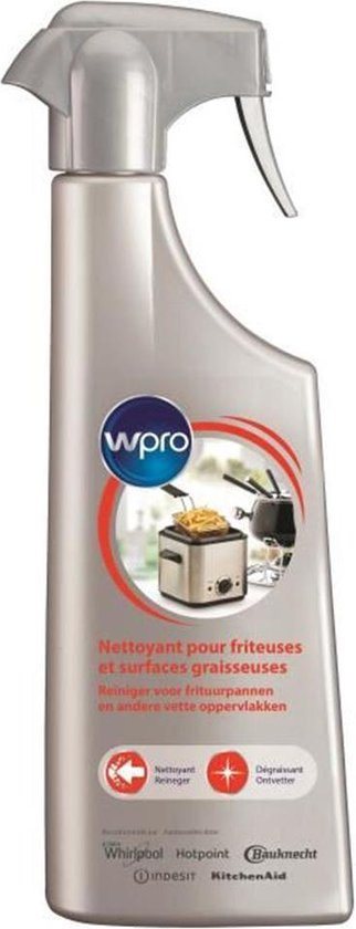 WPRO Reiniger Frituurreiniger - Spray 500ml Zeer krachtige vetverwijderaar 484000008805_