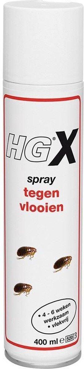 HGX spray tegen vlooien - 400ml -snel en effectief