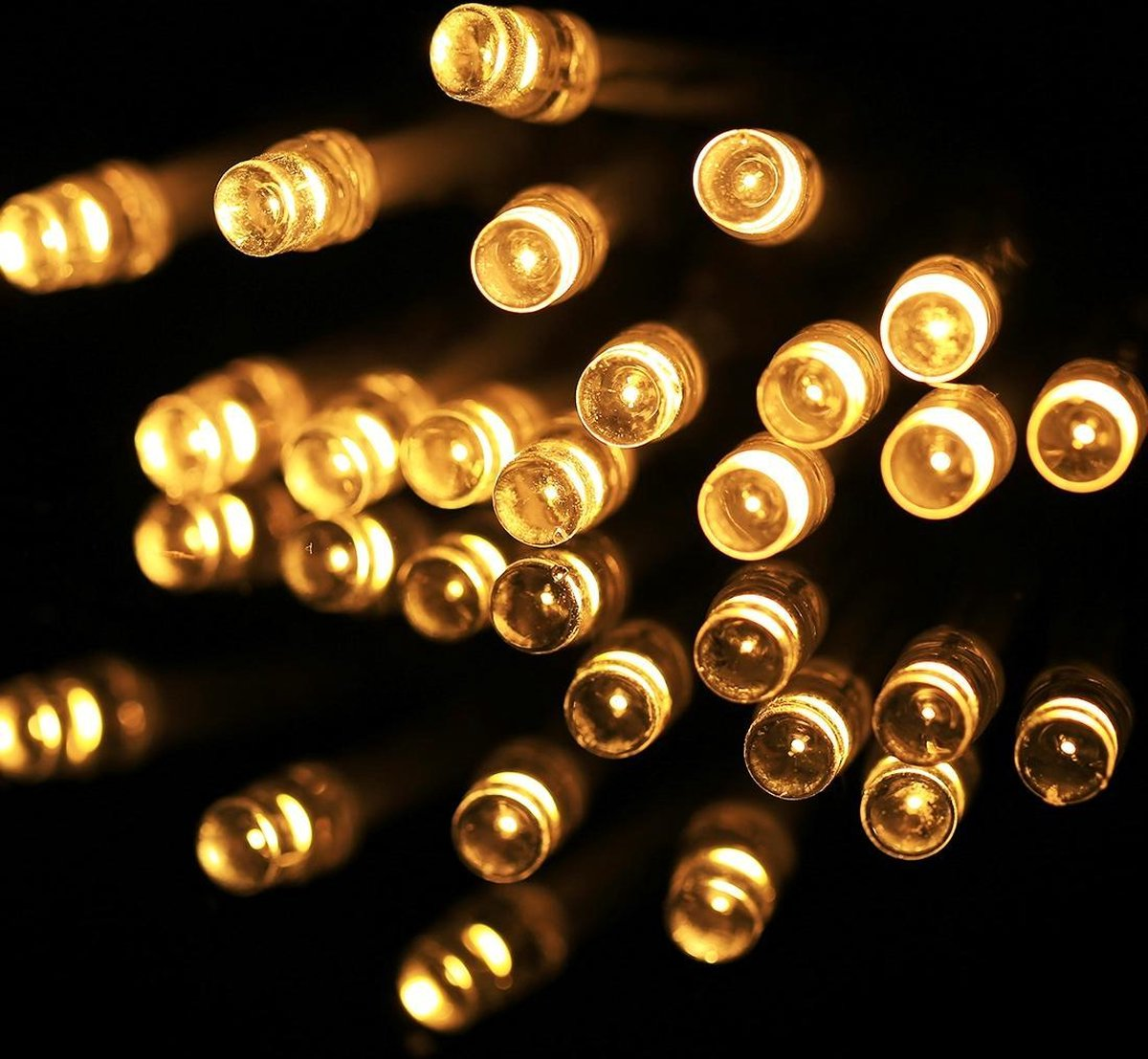 2m String decoratie licht voor Kerstmis partij 20 LED 2-modus Flash batterijen (Warm wit)