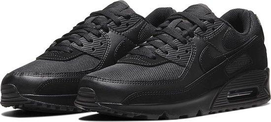 Nike Air Max 90 Heren Sneakers - Wolf Grey/Wolf Grey/Black - Maat 42