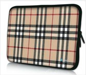 Laptophoes 13,3 inch ruiten chic - Sleevy - laptop sleeve - laptopcover - Collectie 250+ designs