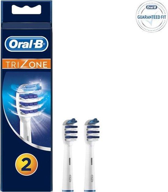 Oral-B TriZone - Opzetborstels - 2 stuks