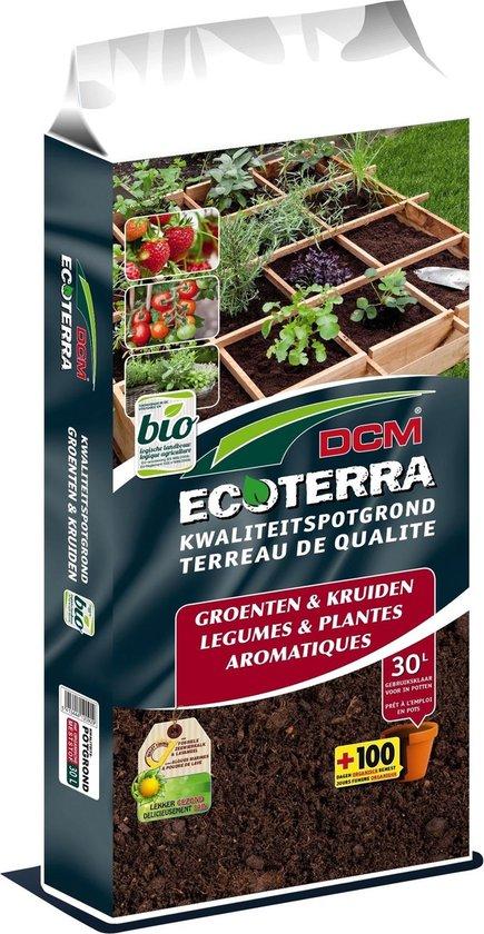 DCM potgrond groenten en kruiden 30L