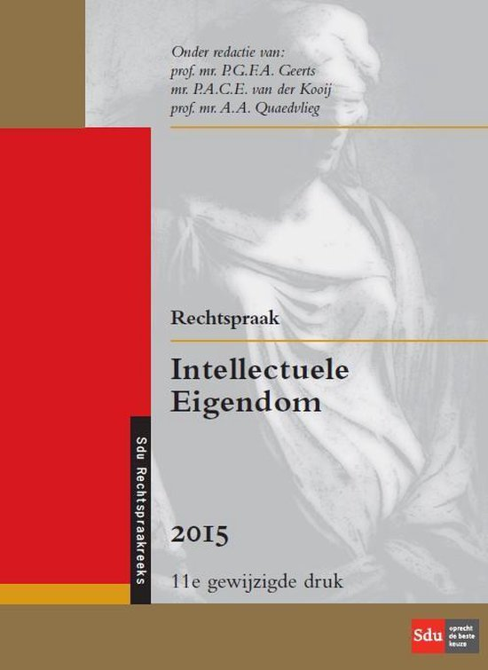 Rechtspraak intellectuele eigendom - P.G.F.A. Geerts  