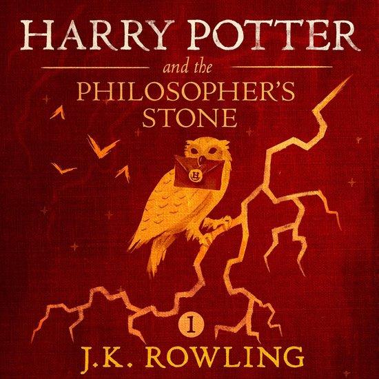 Boek cover Harry Potter and the Philosophers Stone van J.K. Rowling (Onbekend)