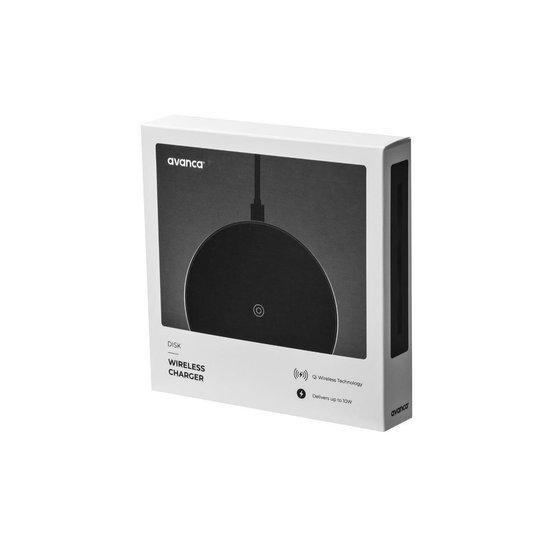 Disk Draadloze Oplader - Qi - 10W - snelladen