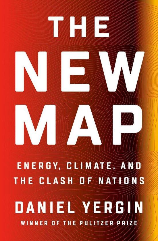 Boek cover The New Map van Daniel Yergin (Onbekend)