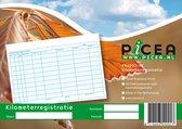 Picea Kilometerregistratieboek met doorschrijf formulier