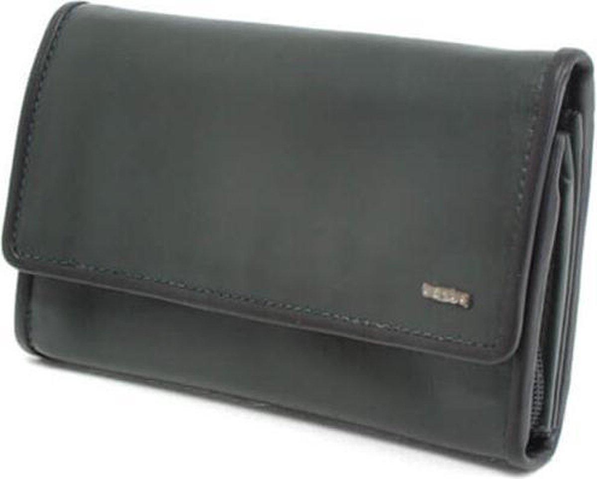 Berba Leren dames portemonnee Soft 001 403 36 British Green