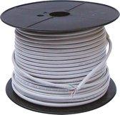 Goobay Patch cable 4x2xAWG24/7 Cat6, 100m netwerkkabel Grijs
