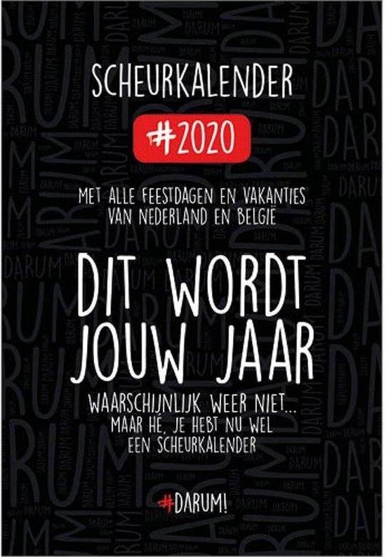Afbeelding van Darum Scheurkalender 2020