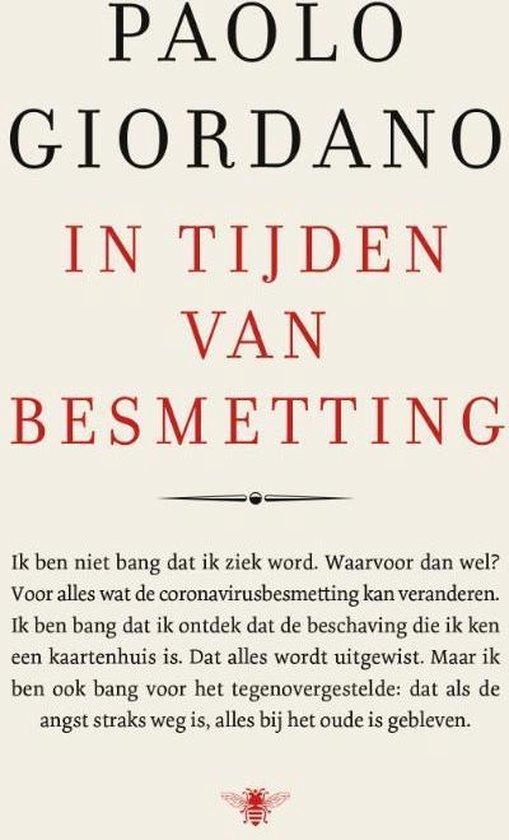 Boek cover In tijden van besmetting van Paolo Giordano (Paperback)