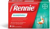 Rennie Suikervrij kauwtabletten bij brandend maagzuur, 36 stuks
