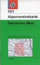 DAV Alpenvereinskarte 10/1 S Steinernes Meer 1 : 25 000 Wegmarkierungen und Skirouten