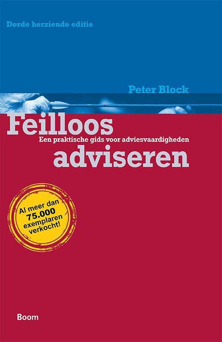 Feilloos adviseren - Peter Block