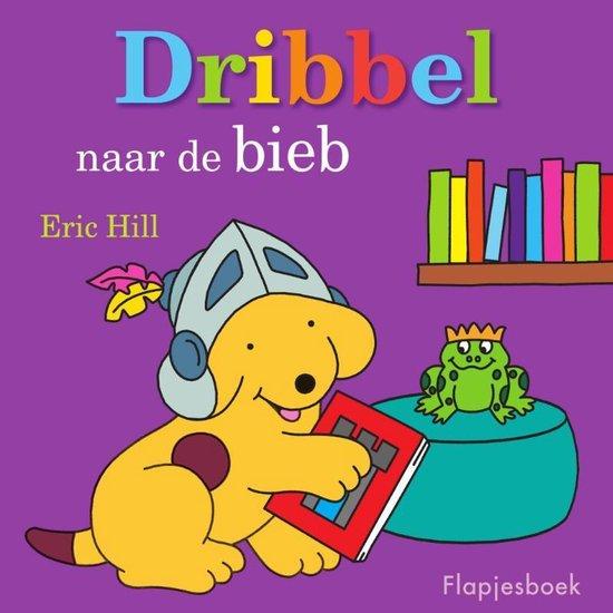 Dribbel - Dribbel naar de bieb - Eric Hill |