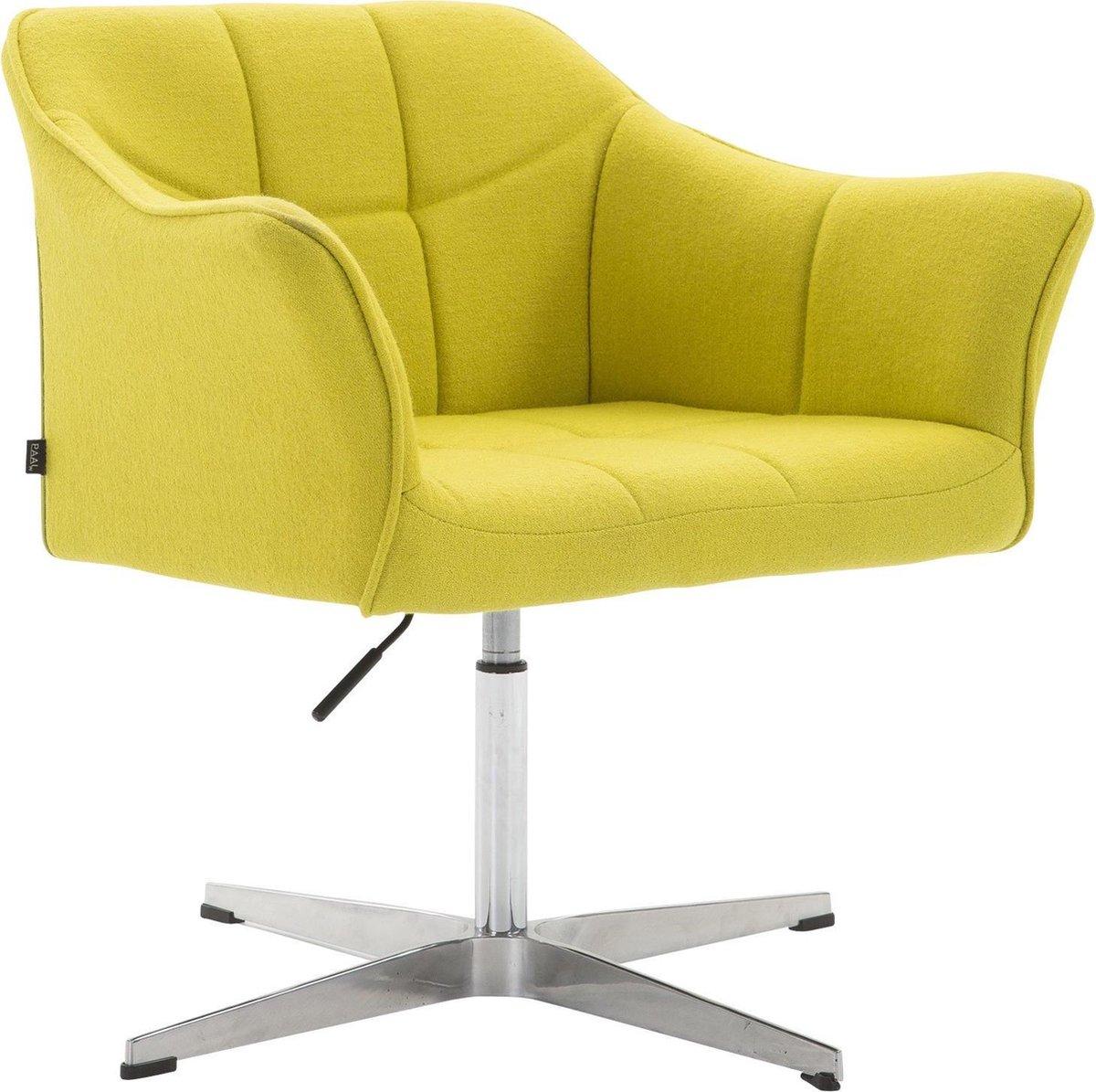 Clp Lounger JEAN, eetkamerstoel, relaxstoel, vergaderstoel, woonkamerstoel, wachtkamerstoel, in hoogte verstelbare fauteuil, Zithoogte van 41 54 cm,