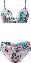 O'Neill Bikini Fiji  miami mix - White Aop W/ Green - 40c