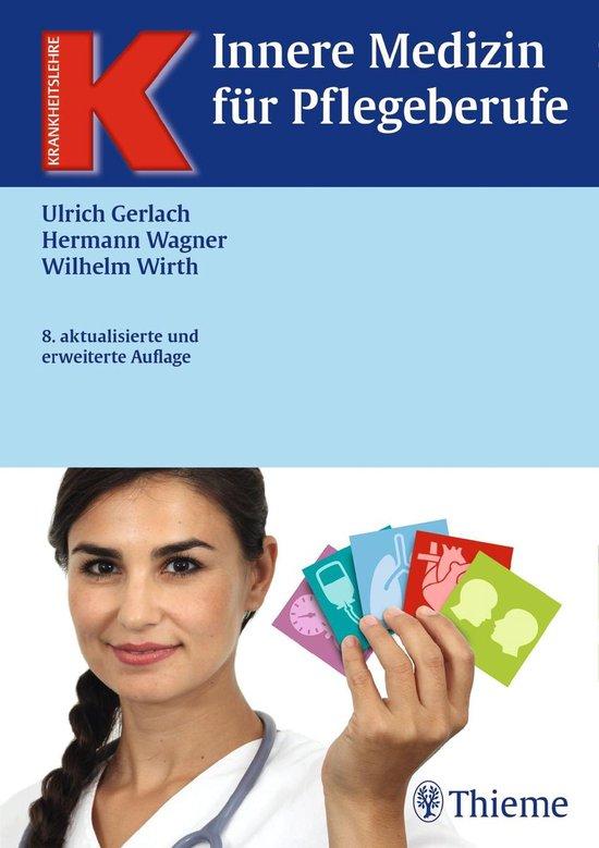 Boek cover Innere Medizin für Pflegeberufe van Ulrich Gerlach (Onbekend)