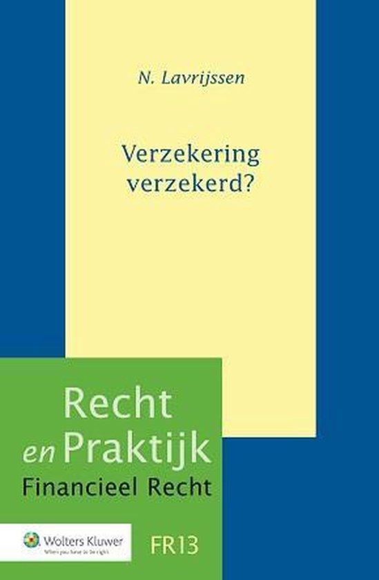 Verzekering verzekerd? - N. Lavrijsen   Fthsonline.com