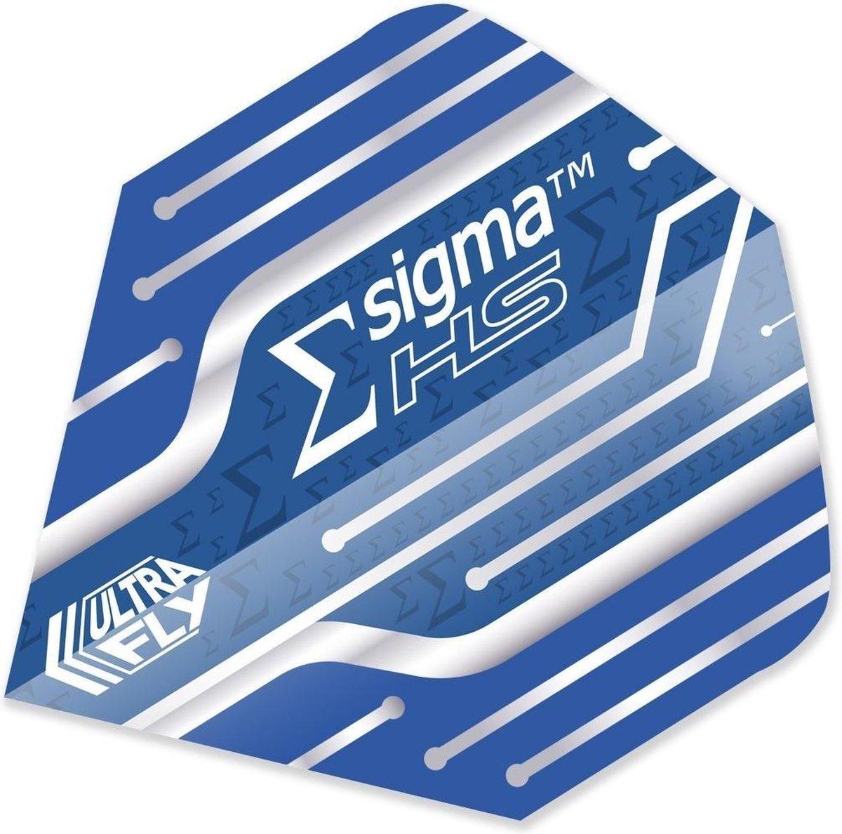 Unicorn Ultrafly Flights 100 Micron Sigma Hs Big Wing Blauw