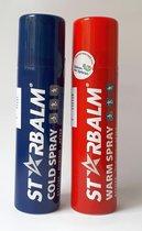 Starbalm Koelspray en Warmte Spray 150ml