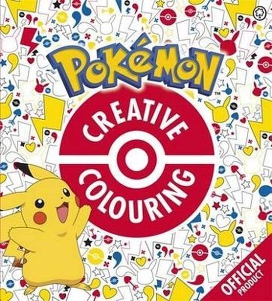 Boek cover The Official Pokemon Creative Colouring van Pokémon (Paperback)