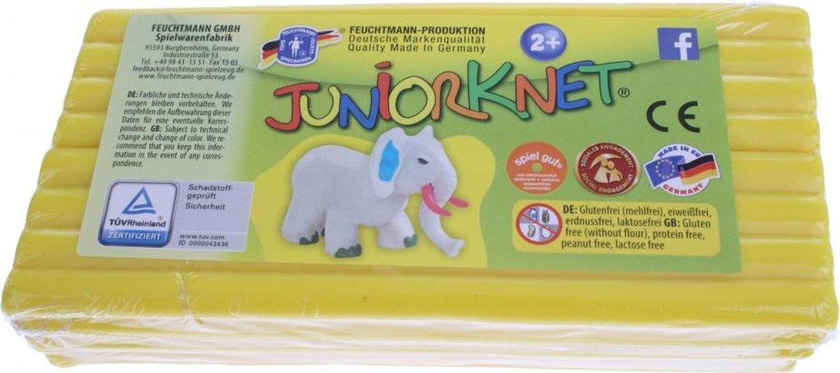 Juniorknet Klei Jumbo Pack 500 gram Geel