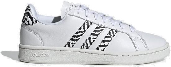 Adidas Grand Court dames sneakers wit