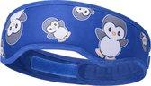 Navaris hot & cold pack voor kinderen - Herbruikbaar koud en warm kompres voor om het hoofd - Verkoelende band - Pinguïndesign