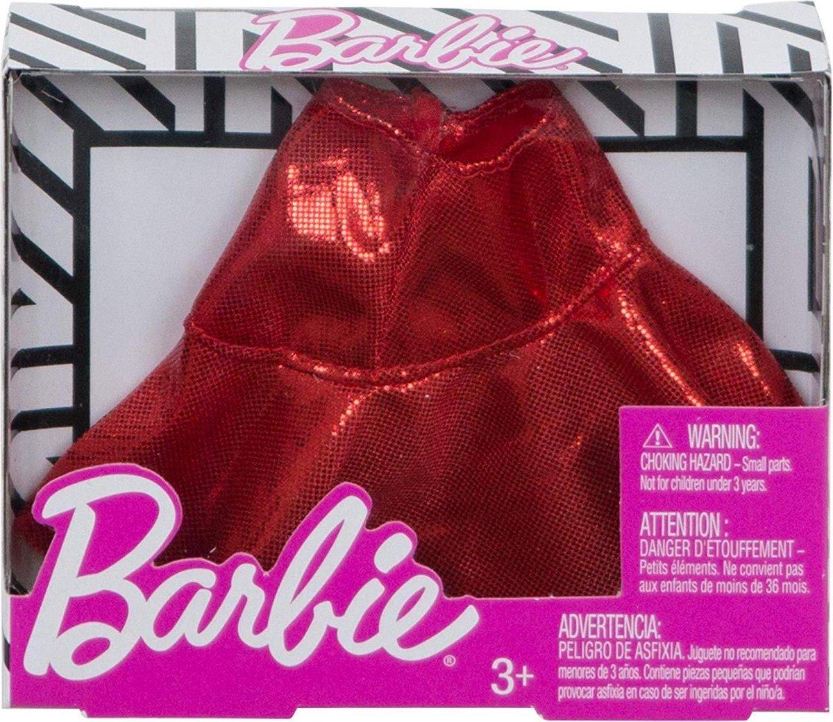 Barbie - Ruffle Skirt Rood