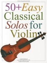Boek cover 50+ Easy Classical Solos for Violin van Hal Leonard Publishing Corporati (Hardcover)