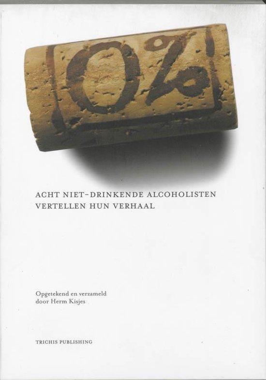 Cover van het boek '0 procent alcohol' van H. Kisjes