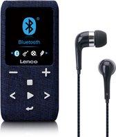 Lenco Xemio-861BU - MP3/MP4 Player met Bluetooth 8GB Micro SD Card - Blauw