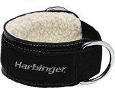 Harbinger - Ankle Cuff - Leren Enkelband - 8 cm - Zwart